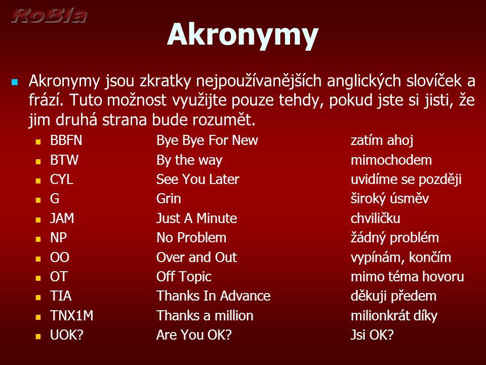 Akronymy