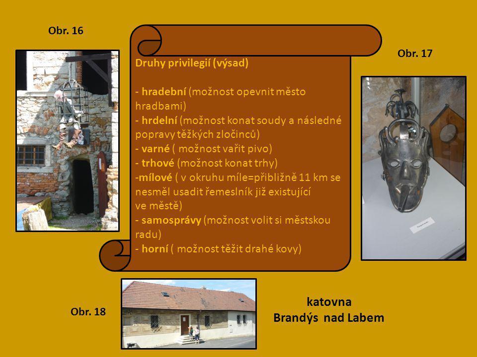 katovna Brandýs nad Labem