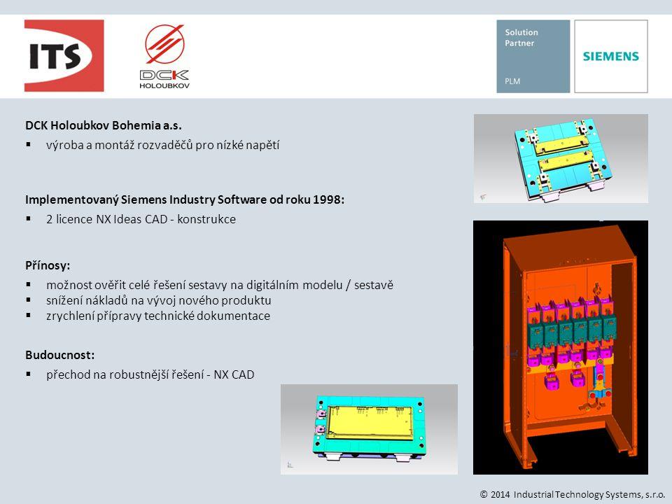 DCK Holoubkov Bohemia a.s. výroba a montáž rozvaděčů pro nízké napětí