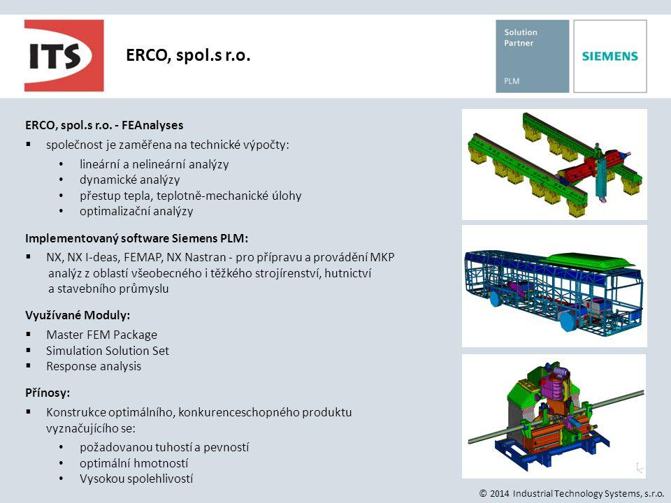 ERCO, spol.s r.o. ERCO, spol.s r.o. - FEAnalyses
