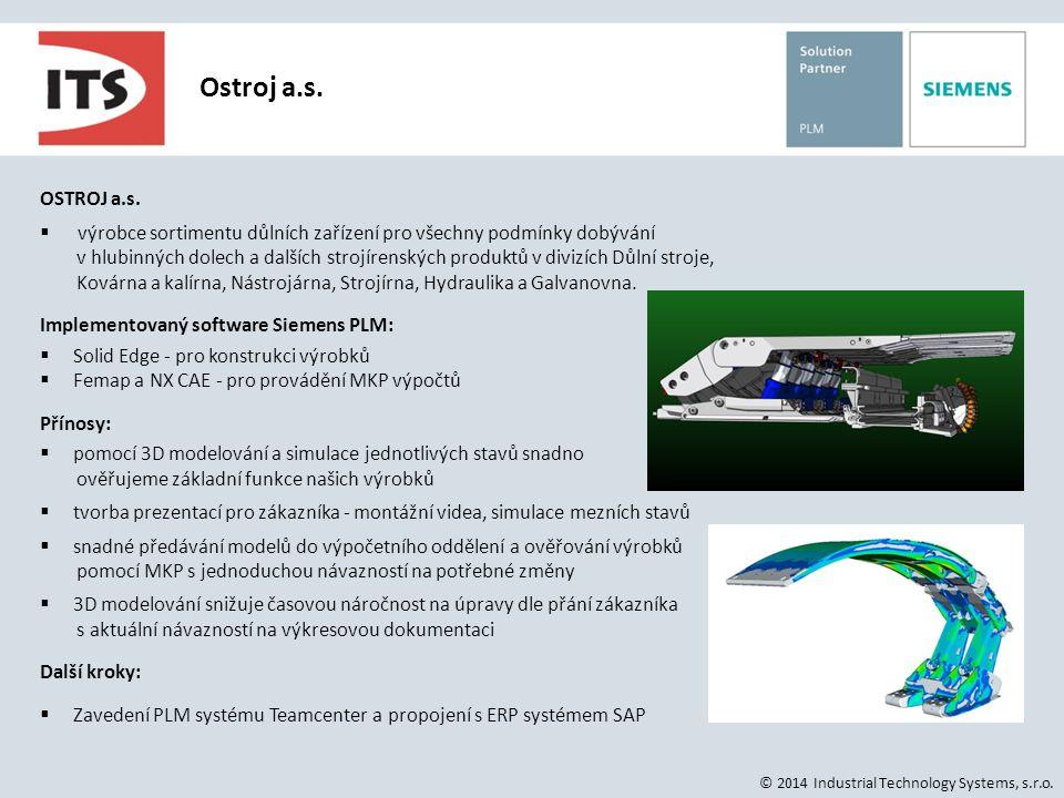Ostroj a.s. OSTROJ a.s. výrobce sortimentu důlních zařízení pro všechny podmínky dobývání.