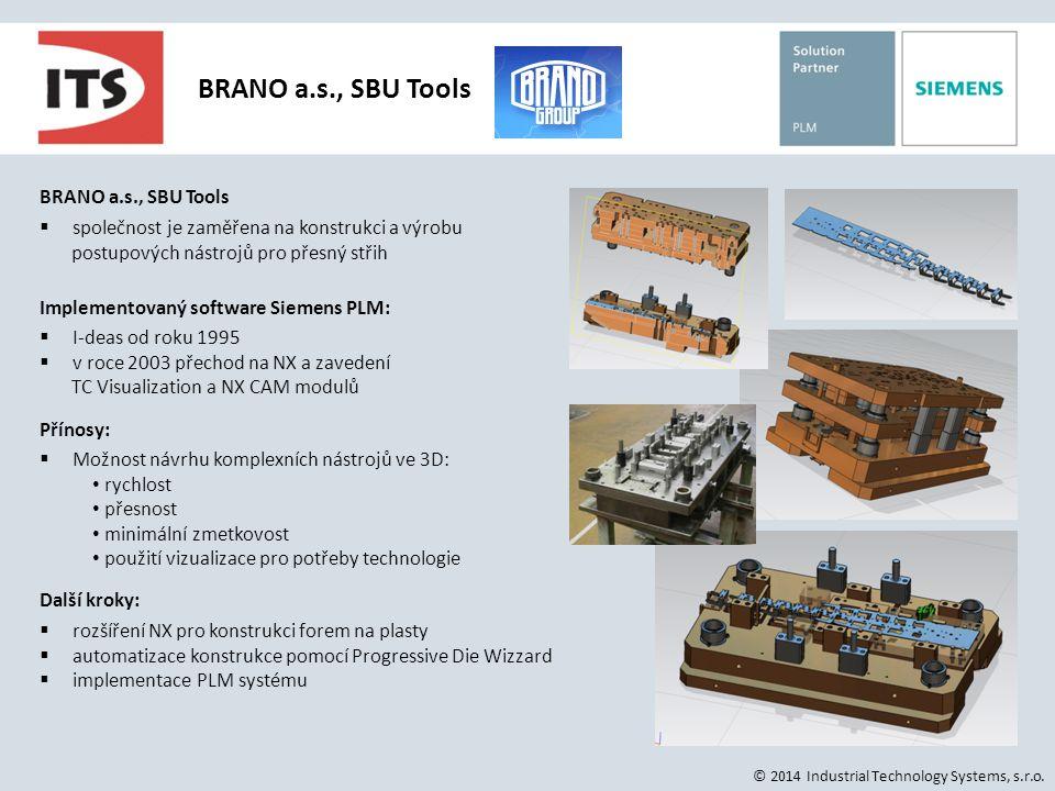 BRANO a.s., SBU Tools BRANO a.s., SBU Tools