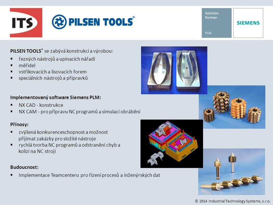 BRANO a.s., SBU Tools PILSEN TOOLS® se zabývá konstrukcí a výrobou: