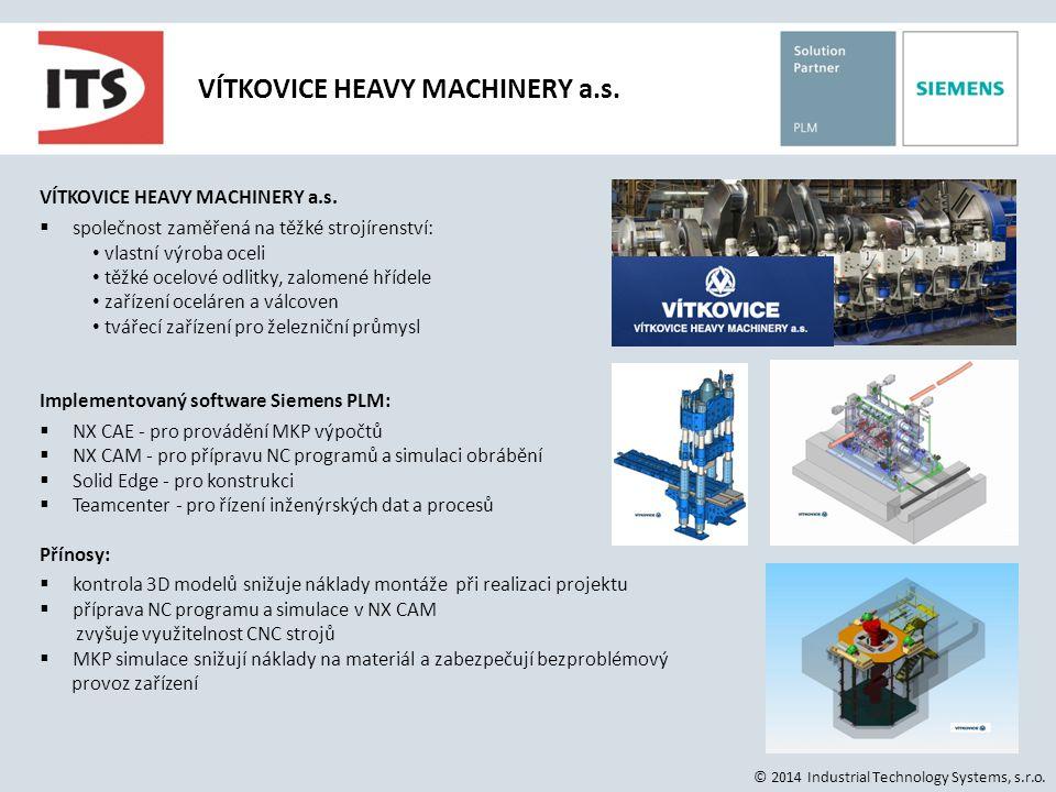 VÍTKOVICE HEAVY MACHINERY a.s.