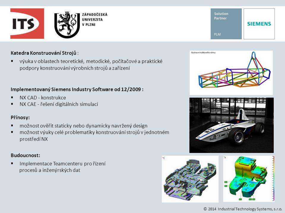 BRANO a.s., SBU Katedra Konstruování Strojů :