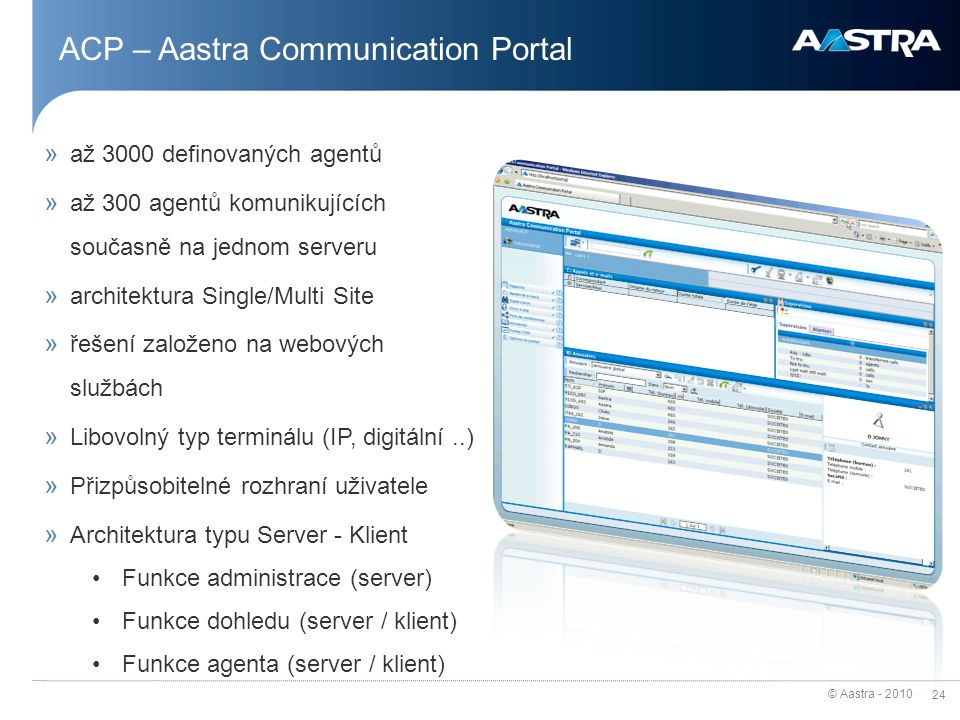 ACP – Aastra Communication Portal