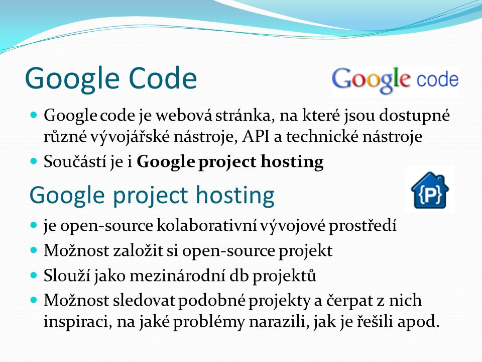 Google Code Google project hosting