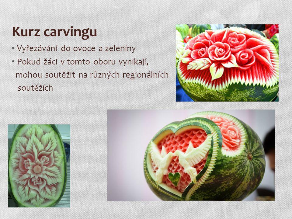 Kurz carvingu Vyřezávání do ovoce a zeleniny