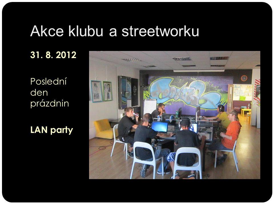 31. 8. 2012 Poslední den prázdnin LAN party