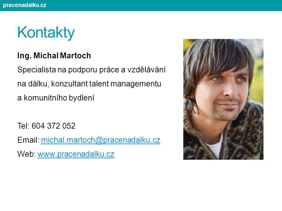 pracenadalku.cz Kontakty.