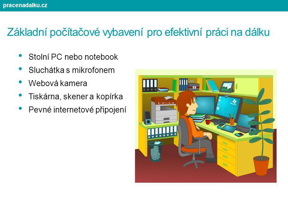 Základní počítačové vybavení pro efektivní práci na dálku