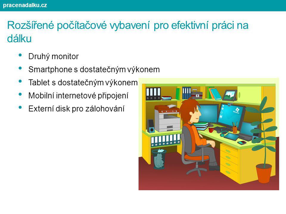 Rozšířené počítačové vybavení pro efektivní práci na dálku