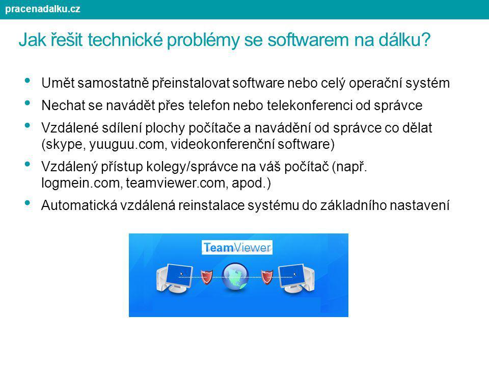 Jak řešit technické problémy se softwarem na dálku