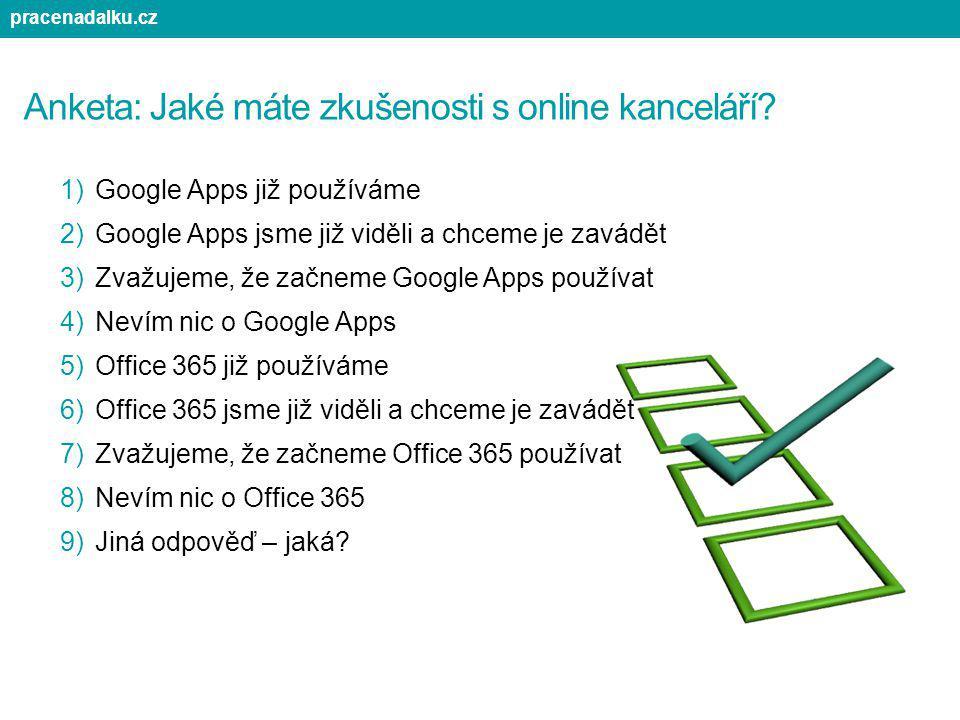 Anketa: Jaké máte zkušenosti s online kanceláří