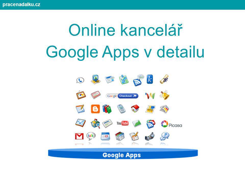 pracenadalku.cz Online kancelář Google Apps v detailu