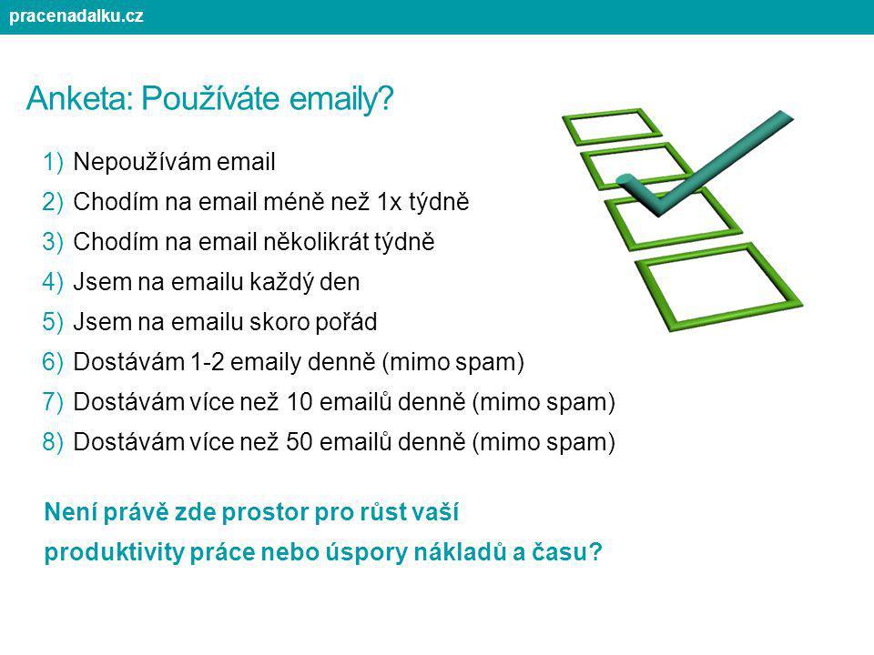 Anketa: Používáte emaily