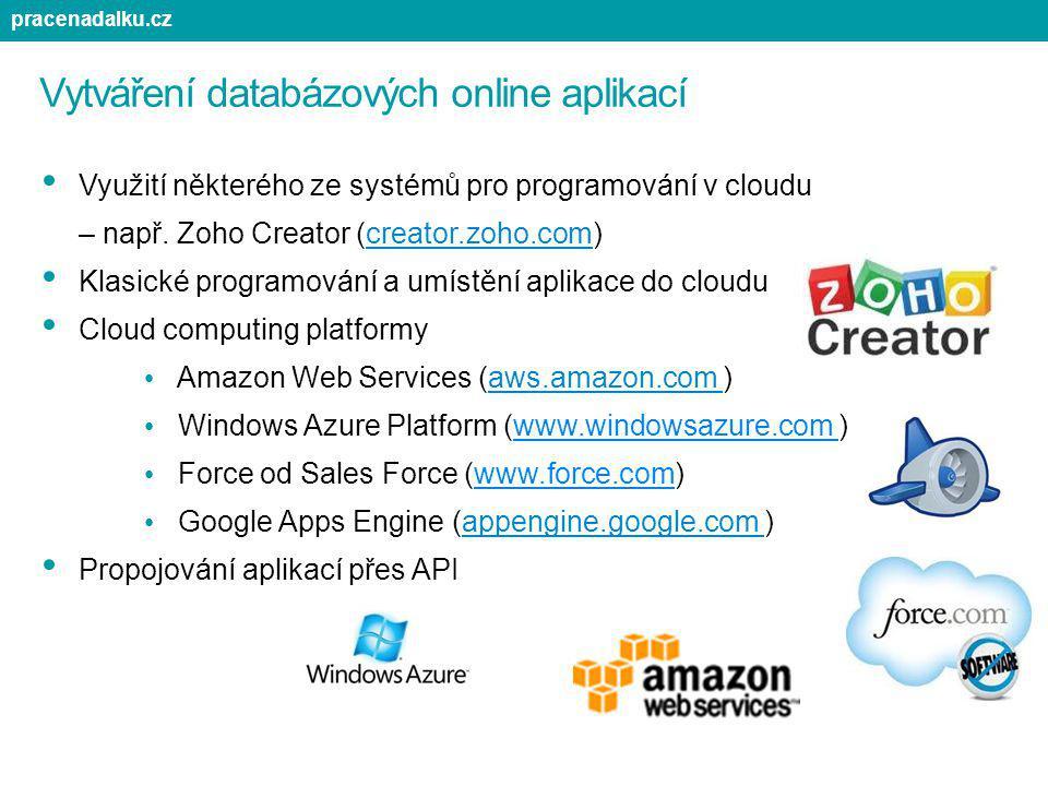Vytváření databázových online aplikací