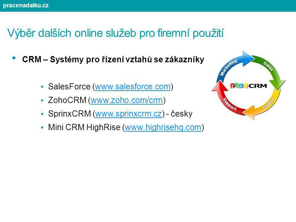 Výběr dalších online služeb pro firemní použití