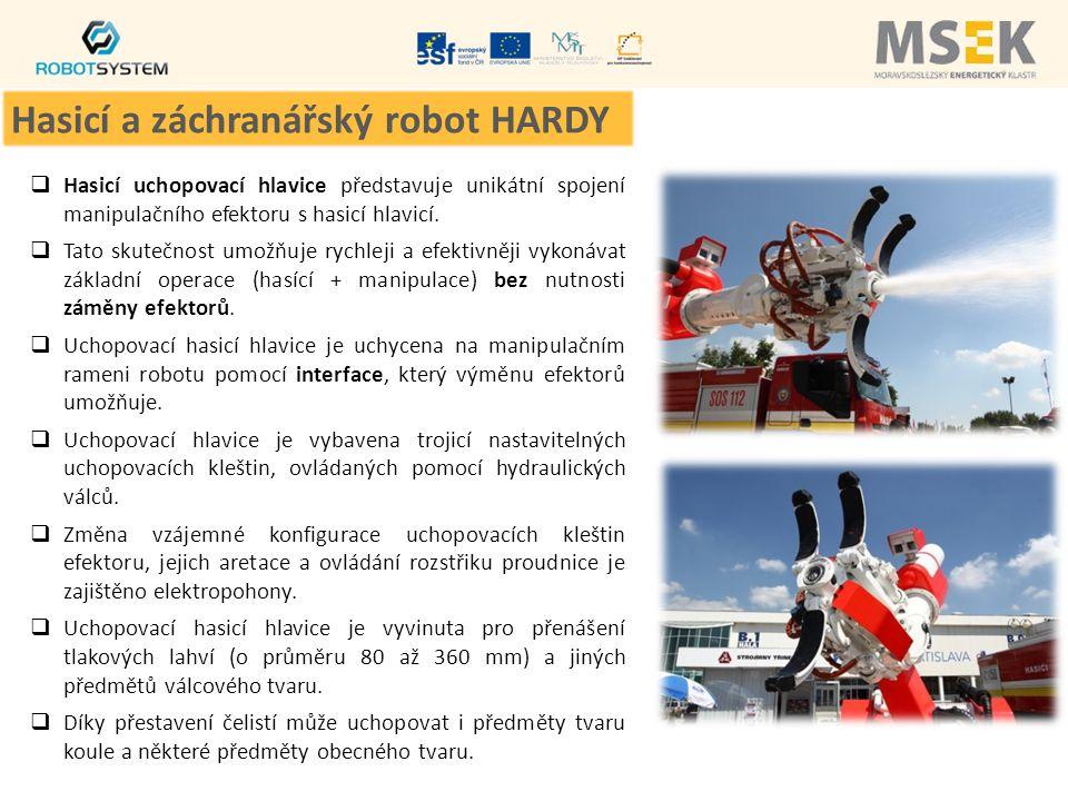 Hasicí a záchranářský robot HARDY