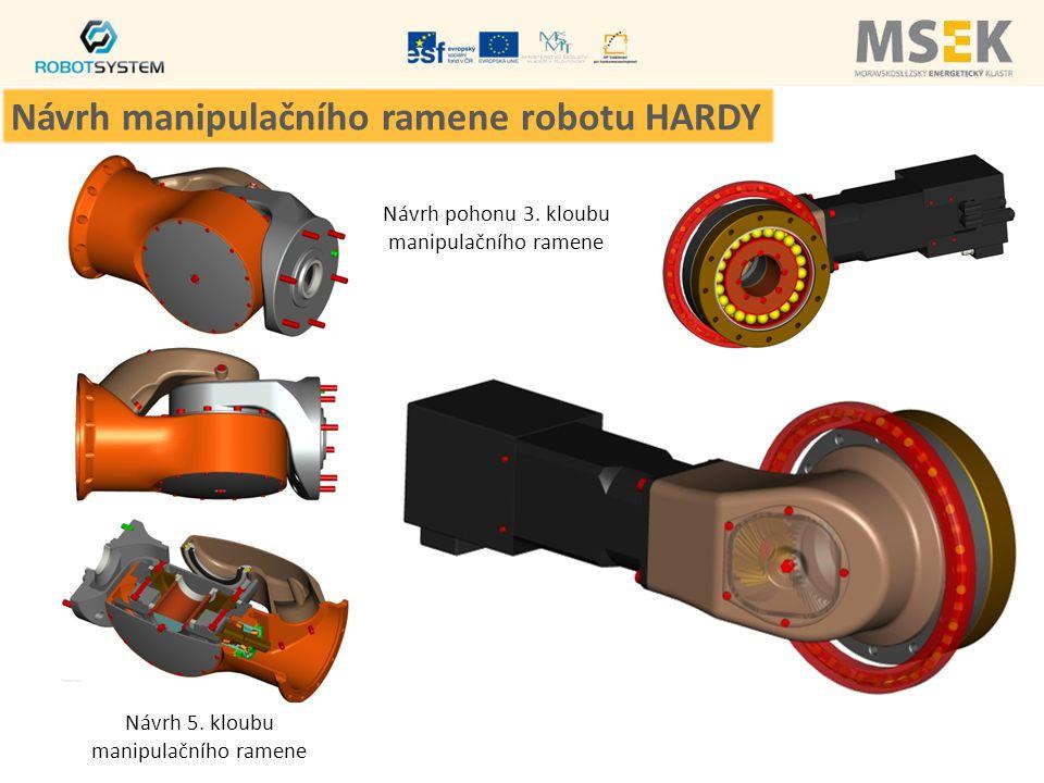 Návrh manipulačního ramene robotu HARDY