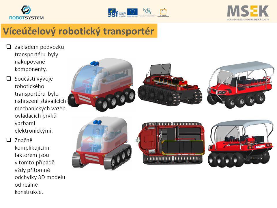 Víceúčelový robotický transportér