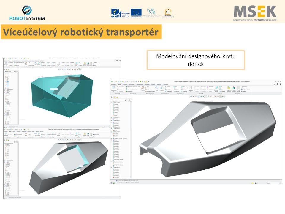 Modelování designového krytu řídítek