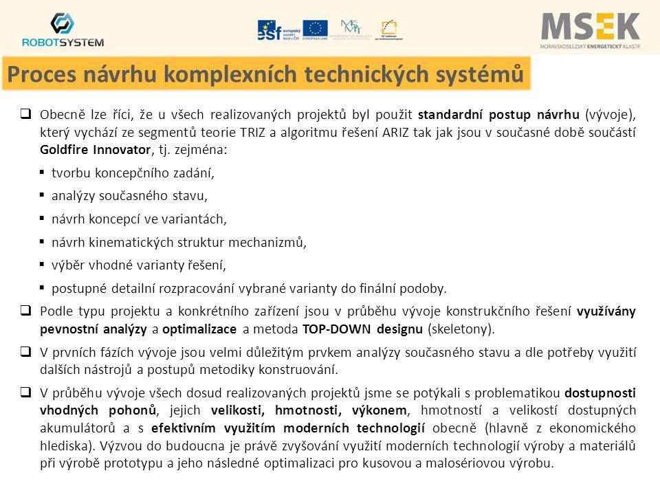 Proces návrhu komplexních technických systémů