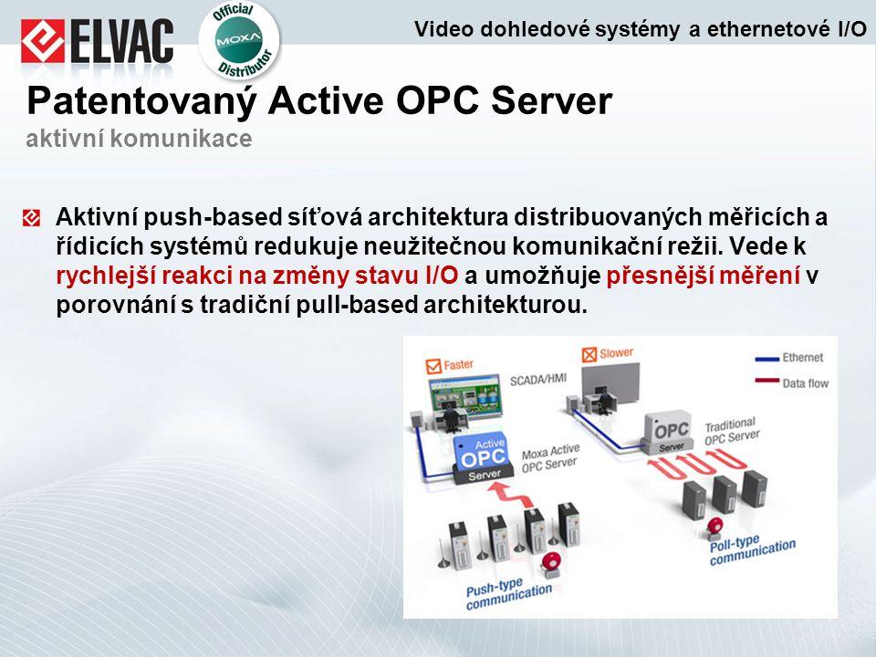 Patentovaný Active OPC Server aktivní komunikace