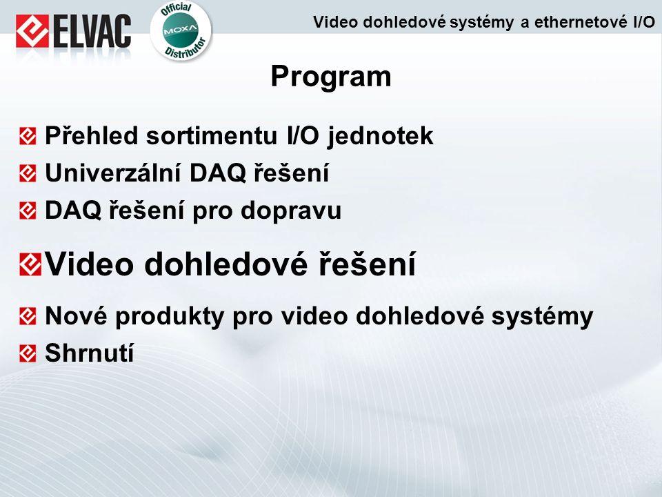 Video dohledové řešení