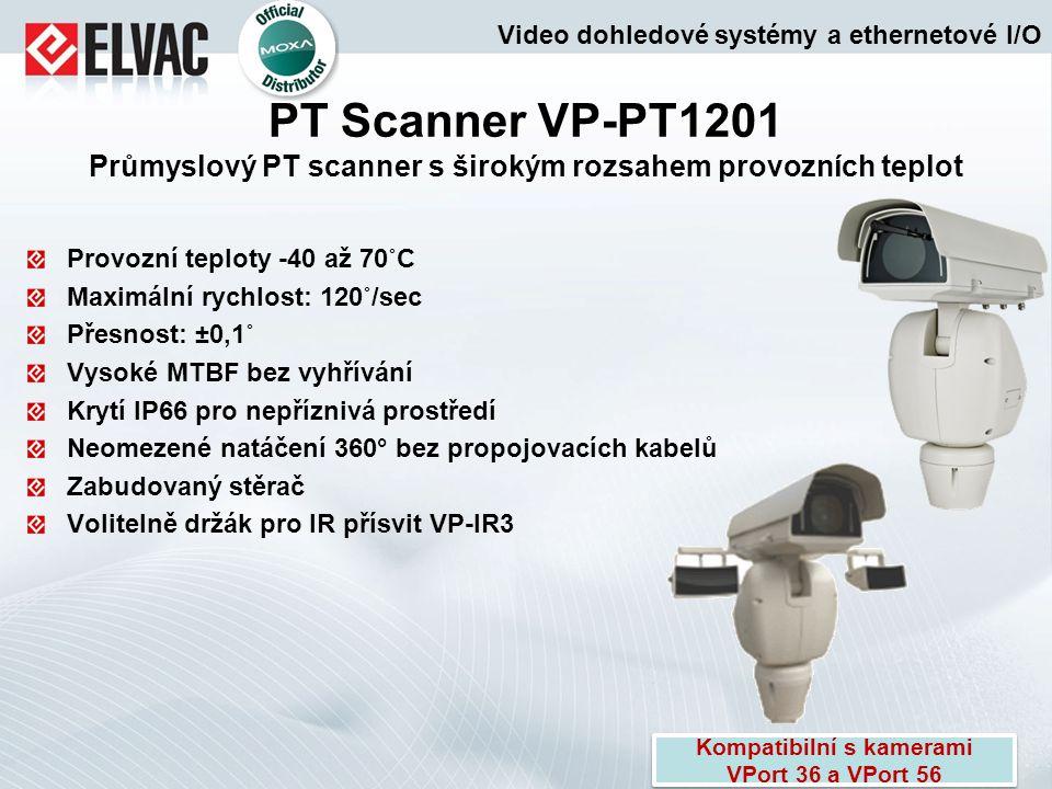 Kompatibilní s kamerami VPort 36 a VPort 56