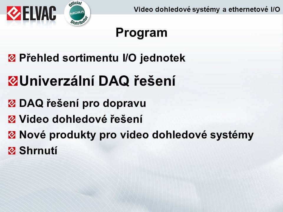 Univerzální DAQ řešení