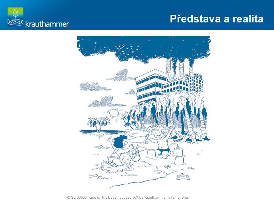 Představa a realita © SL 00605 Kids on the beach 080228 XX by Krauthammer International