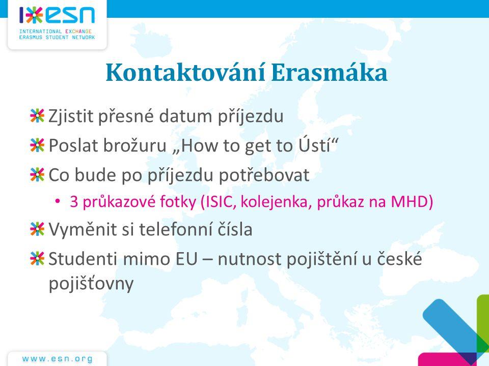 Kontaktování Erasmáka