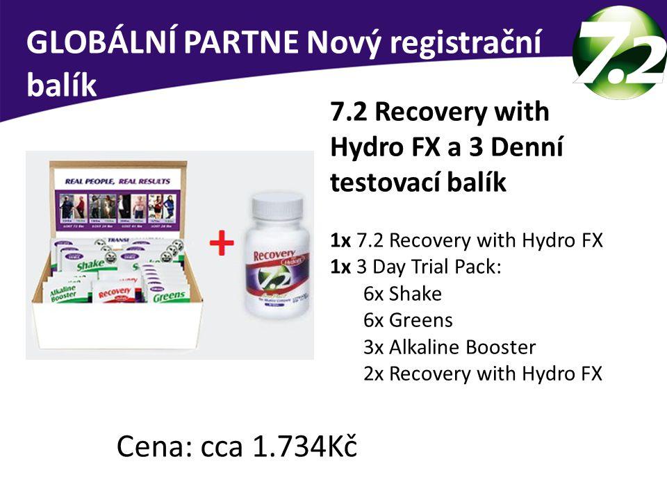 GLOBÁLNÍ PARTNE Nový registrační balík
