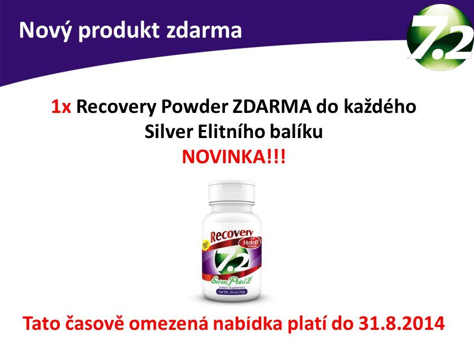 Nový produkt zdarma 1x Recovery Powder ZDARMA do každého