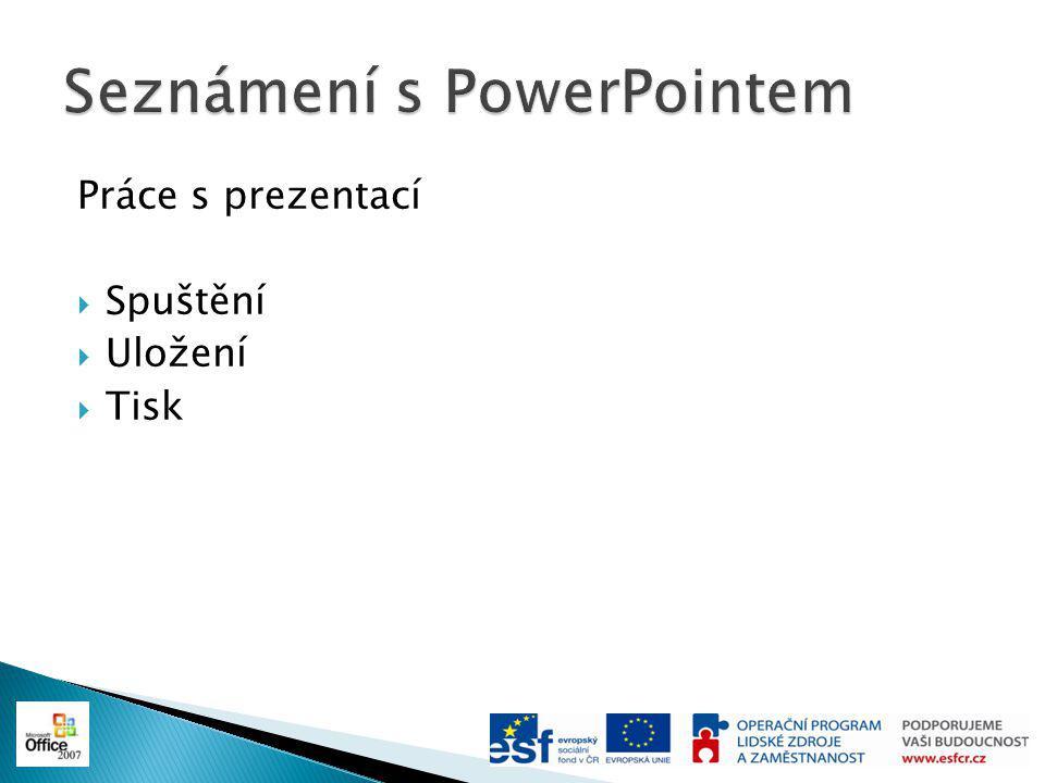 Seznámení s PowerPointem