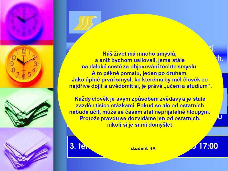 Dny otevřených dveří 1. termín - 16.11. 2005 - od 8:00 do 17:00