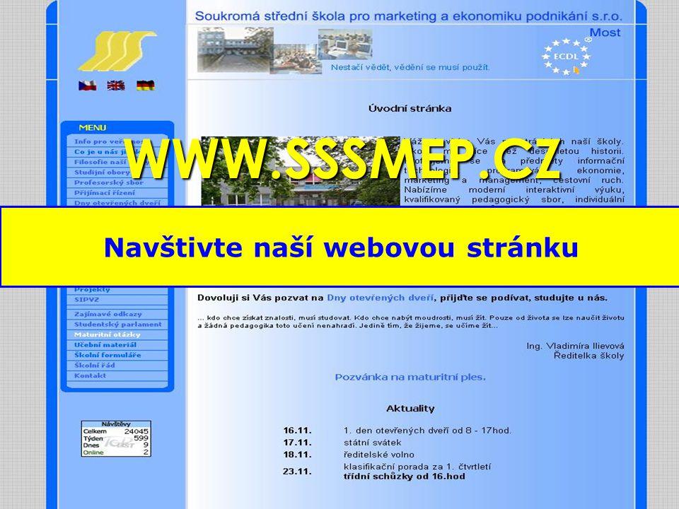 Navštivte naší webovou stránku
