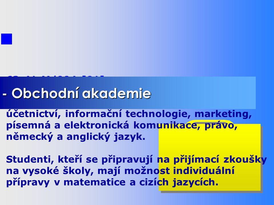 - Počítače a programování