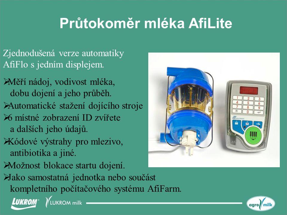 Průtokoměr mléka AfiLite