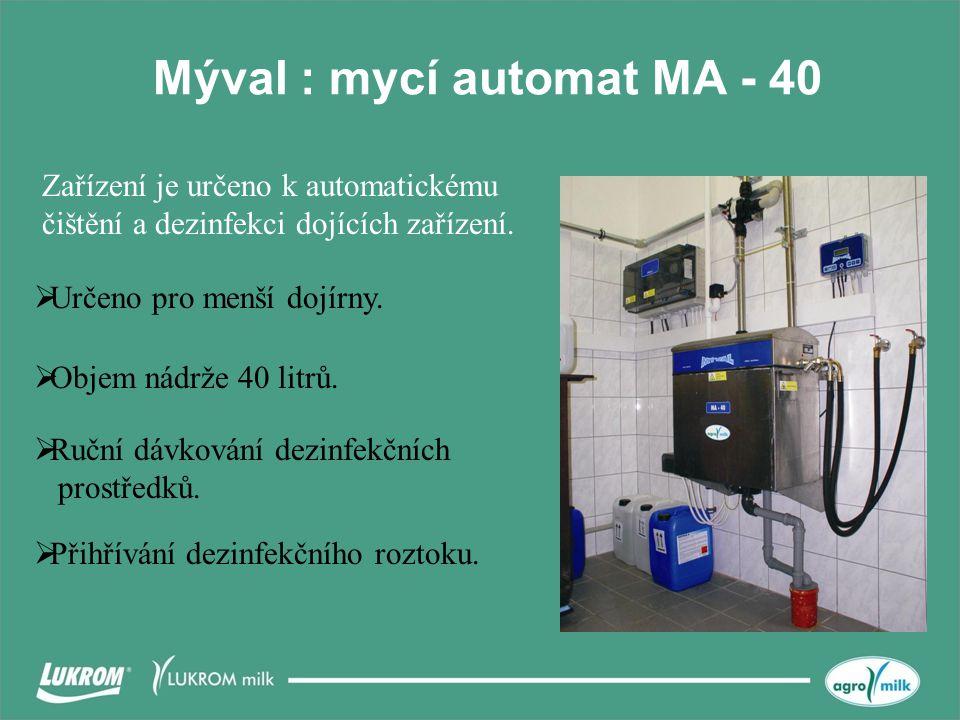 Mýval : mycí automat MA - 40