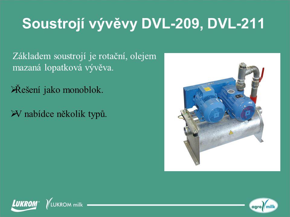 Soustrojí vývěvy DVL-209, DVL-211