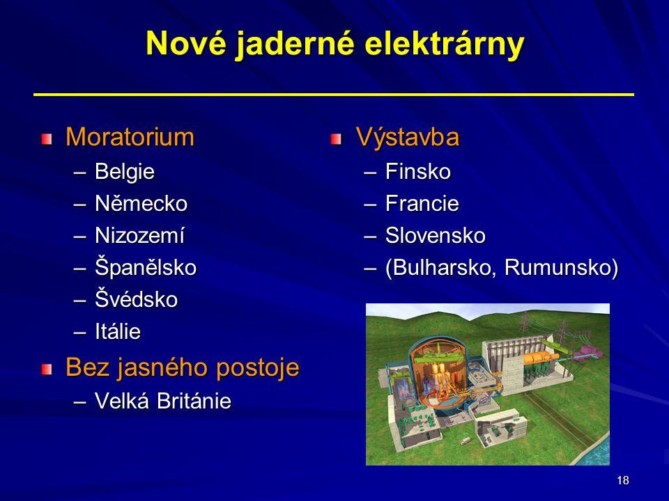Nové jaderné elektrárny