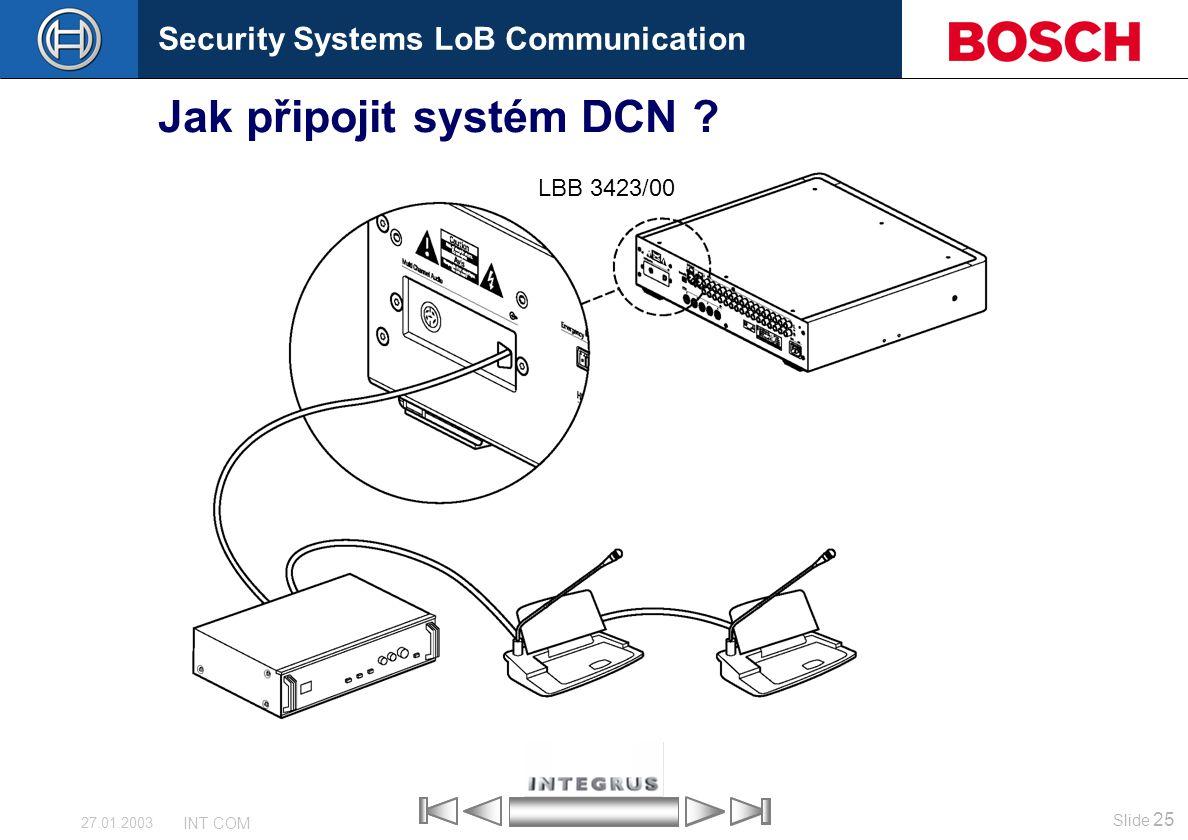 Jak připojit systém DCN