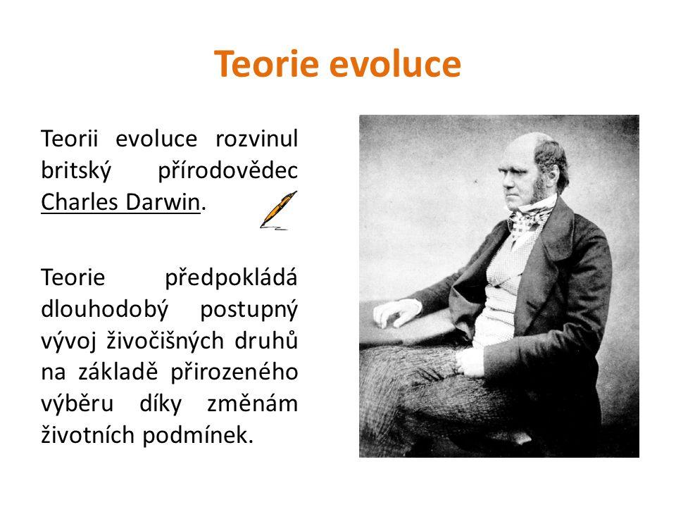 Teorie evoluce