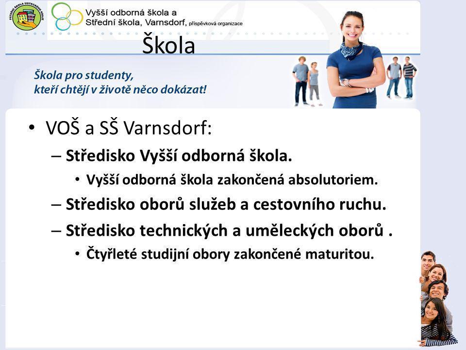 Škola VOŠ a SŠ Varnsdorf: Středisko Vyšší odborná škola.