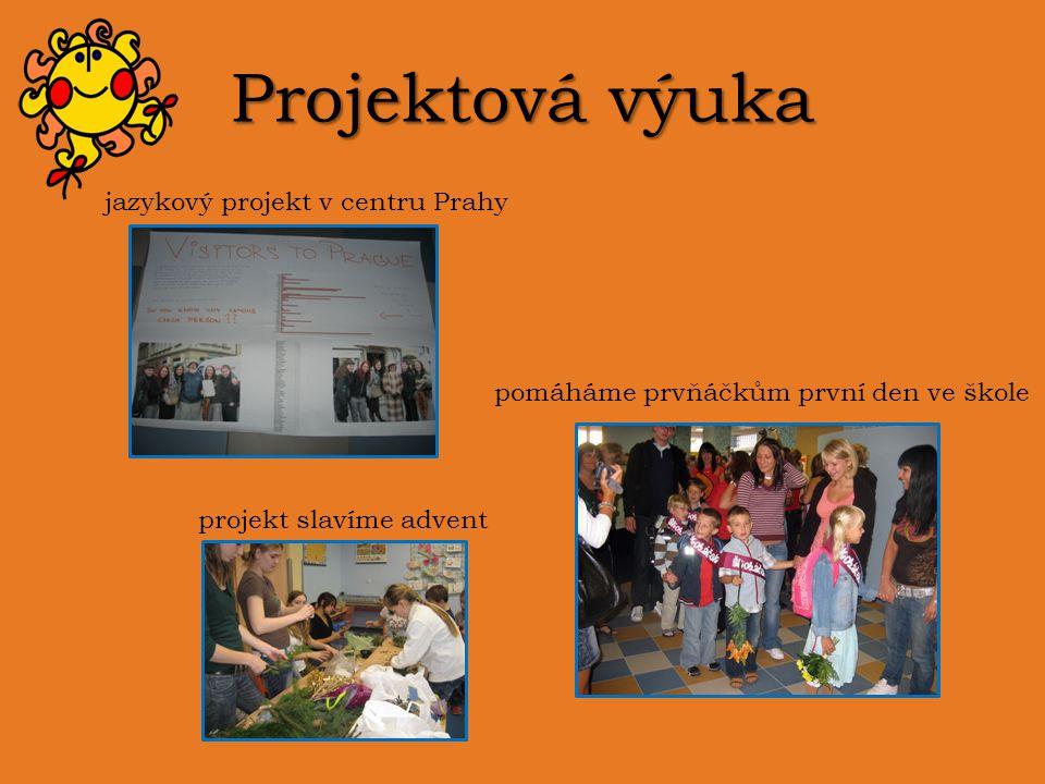 Projektová výuka jazykový projekt v centru Prahy