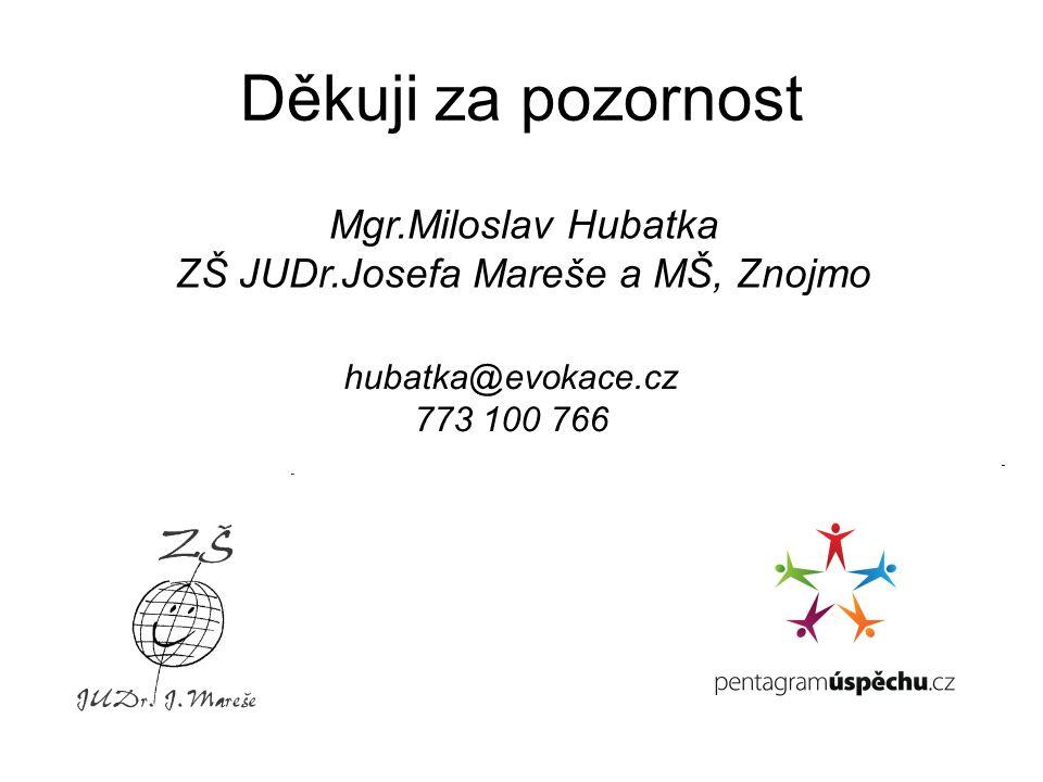 ZŠ JUDr.Josefa Mareše a MŠ, Znojmo