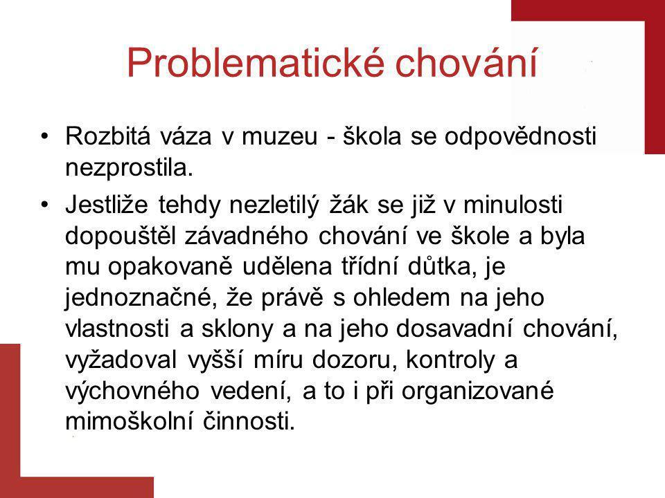 Problematické chování