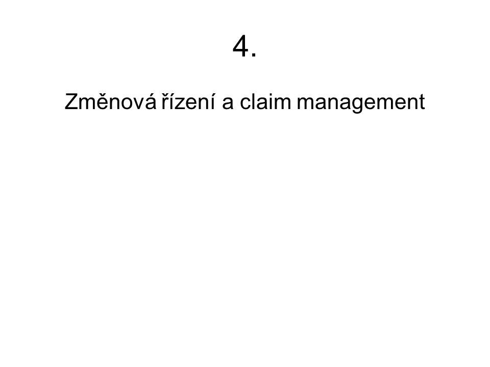 Změnová řízení a claim management